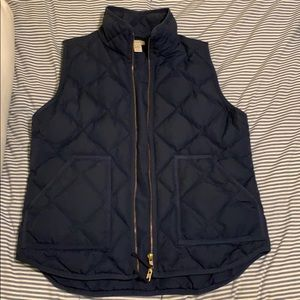 J.Crew Quilted Puffer Vest M